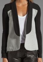 Pencey Warrior Blazer in Black/Grey