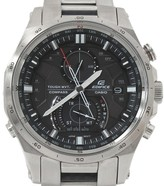 Casio Edifice Stainless Steel Solar Radio 42mm Mens Watch