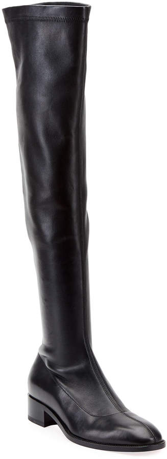 quality design ca942 d4ec6 Theophila Flat Red Sole Boots