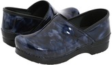Dansko Professional Marbled Patent (Blue Marbled Patent Leather) - Footwear