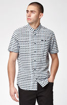 RVCA Shaded Short Sleeve Button Up Shirt