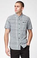 RVCA Shaded Short Sleeve Button Up Shirt