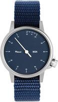 Miansai M24 Stainless Steel Watch with Nylon Strap, Navy