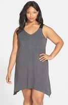 DKNY Plus Size Women's 'Urban Essentials' Jersey Chemise