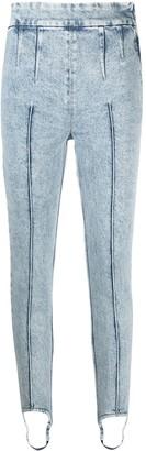Isabel Marant Stirrup-Cuff Skinny Jeans