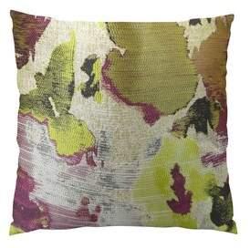 "Tudor Plutus Brands Berry Crush Handmade Throw Pillow Plutus Brands Size: 22"" H x 22"" W"