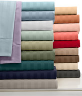 Charter Club CLOSEOUT! Damask Stripe 500 Thread Count Pima Cotton Sheet Sets, Created for Macy's