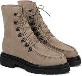 Thumbnail for your product : LEGRES Lace-up suede ankle boots