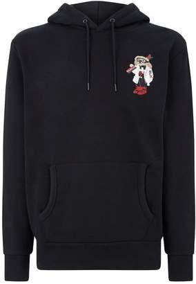 Ralph Lauren Purple Label Ski Bear Hoodie
