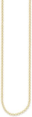 Thomas Sabo KE1219-413-12-L Women's Pea Chain 925 Silver Partially Gold-Plated 90 cm