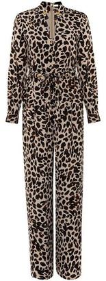 Damsel in a Dress Hannah Animal Print Jumpsuit