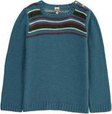 Bonton Stripe Alpaca Wool Jumper