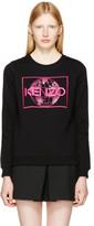 Kenzo Black World Logo Sweatshirt