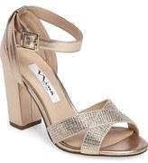 Nina Shelley Crisscross Ankle Strap Sandal (Women)
