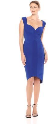 Tadashi Shoji Women's Sleevless Pintuck Dress
