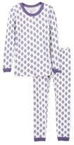 Coccoli Leaf Print Pajamas (Toddler & Little Kids)