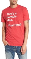 Kid Dangerous Men's Horrible Idea Graphic T-Shirt