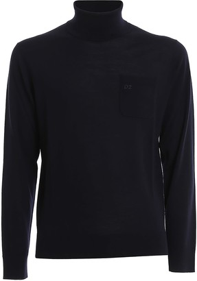 DSQUARED2 Turtle Neck Wool Sweater