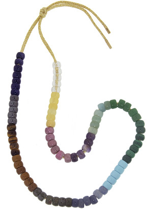 Carolina Bucci FORTE Beads Moonbow Sun Necklace Kit - Yellow Gold