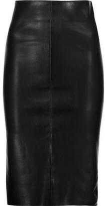 Drome Leather Pencil Skirt