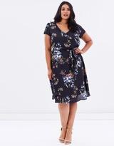 Curve Floral Dress