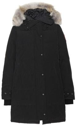 Canada Goose Shelburne fur-trimmed down coat