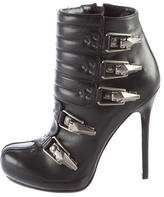 Alexander McQueen Moto Ankle Boots