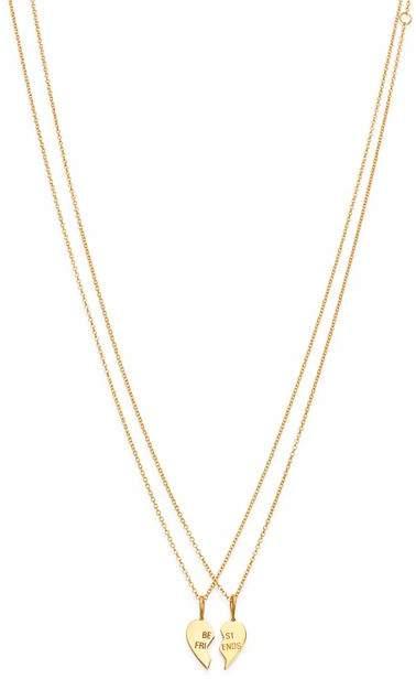 e6f99806fd Gold Best Friend Necklaces - ShopStyle