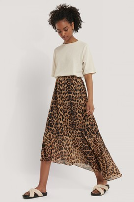 NA-KD Recycled Asymmetric Chiffon Skirt