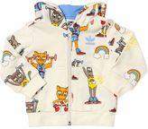 Adidas Originals X Mini Rodini Cats Cotton Sweatshirt & Sweatpants
