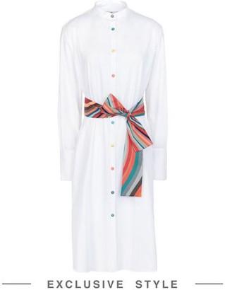 PS PAUL SMITH x YOOX Knee-length dress