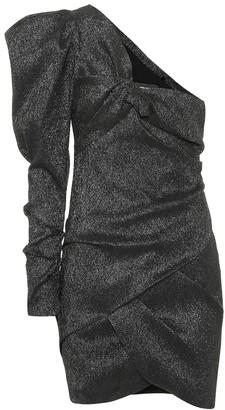 Isabel Marant Lexine one-shoulder minidress