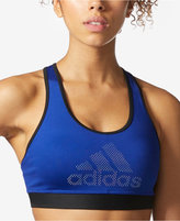 adidas ClimaLite® Compression Racerback Medium-Support Sports Bra
