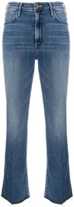 Mother The Hustler flared jeans