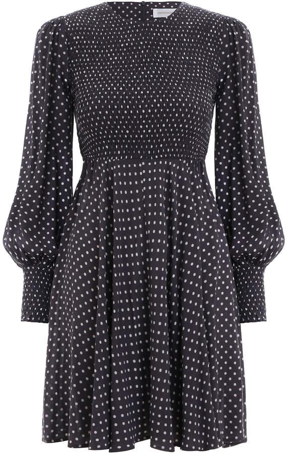 Zimmermann Shirred Mini Dress