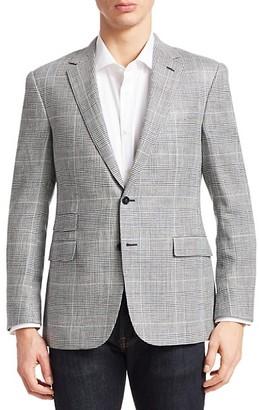 Ralph Lauren Glen Plaid Wool Two-Button Sportcoat