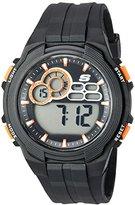Skechers Men's Quartz Plastic Casual Watch, Color:Black (Model: SR1092)