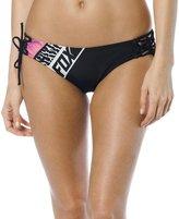 Fox Racing Women's Refractionace Up Side Tie Bikini Bottom-arge