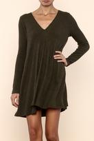 Lush Ribbed Sweater Dress
