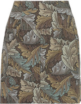Marc by Marc Jacobs Printed cotton mini skirt