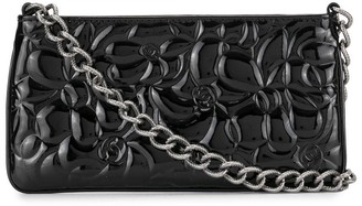 Chanel Pre Owned 2004 embossed Camellia clutch