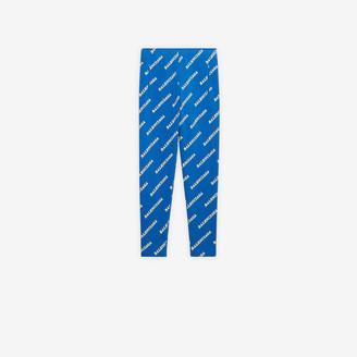 Balenciaga Allover Sporty Logo Slim Tracksuit Pants
