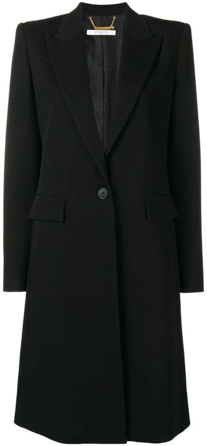 Givenchy long single-breasted coat