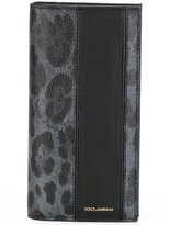 Dolce & Gabbana leopard print long cardholder