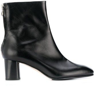 AEYDĒ Pointed Ankle Boots