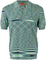 Missoni striped polo top - men - Cotton - 50