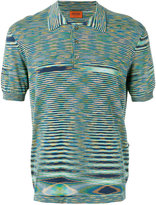 Missoni striped polo top - men - Cotton - 58