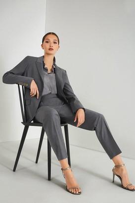 Karen Millen Polished Stretch Wool Blend Jacket