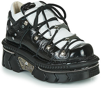 New Rock women's Shoes (Trainers) in Black