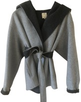 Hotel Particulier Grey Wool Jacket for Women